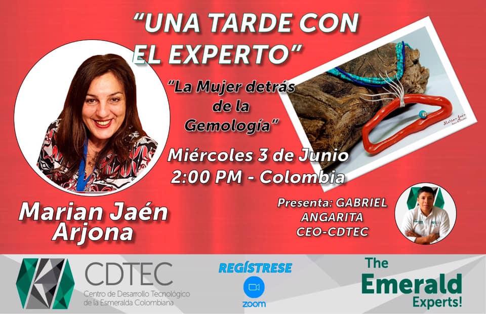 <em>La mujer detrás de la Gemología</em>, nuevo encuentro digital este miércoles