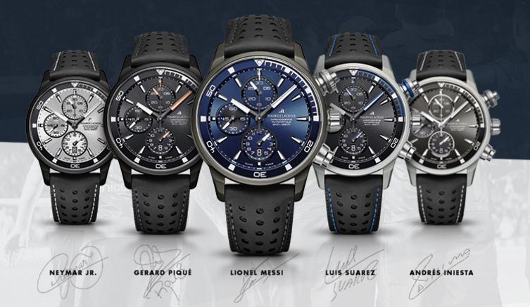 Los relojes diseñados por los jugadores del Barça llegan a Barcelona ... 9fc840d1fc4