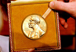 Un Premio Nobel de la Paz de oro 'fairmined'