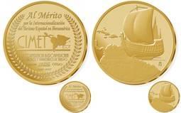 La Casa de la Moneda acuña una Medalla especial para ministros y empresarios de Turismo