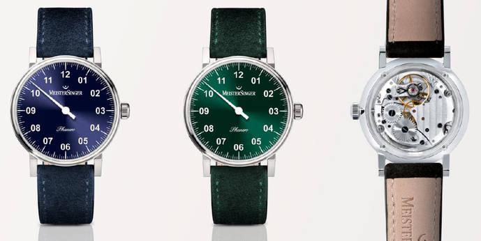MeisterSinger lanza su reloj más liviano, con 'motor' suizo