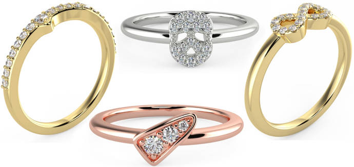 Mimoke amplía su catálogo de joyería con diamantes creados