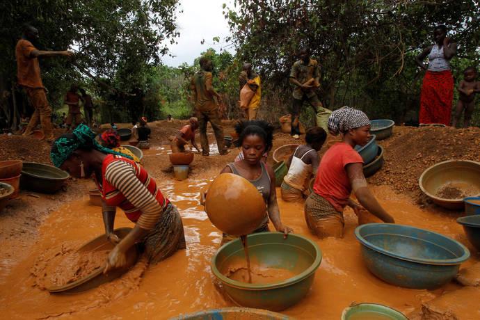 Proyecto piloto en África para eliminar el mercurio de la minería artesanal