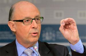 Cristobal Montoro es el ministro de Hacienda.