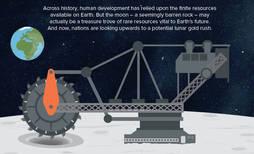 Oro en la luna, un incentivo para retomar las misiones a nuestro satélite