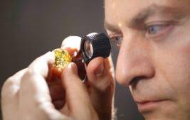 El diamante amarillo más grande del mundo: 54 cts de esplendor