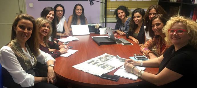 Reunión de las Mujeres Brillantes en España