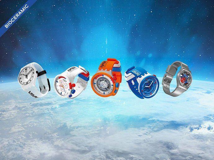 Swatch lanza 'Space', colección inspirada en la Nasa