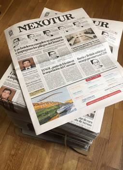 El semanario dedicado al Sector Turístico, Nexotur, es una de las publicaciones emblemáticas del Grupo NEXO, empresa editora de GOLD&TIME.