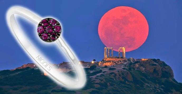 La firma joyera Nicols se adelanta al próximo eclipse lunar
