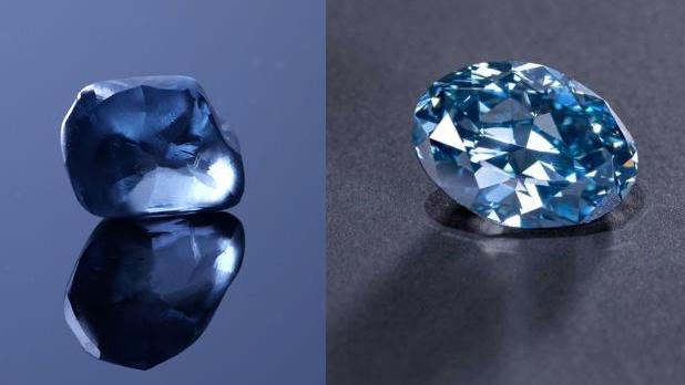 Descubre uno de los mayores diamantes azules de África