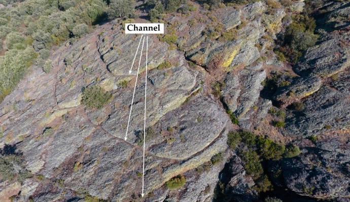 Los drones revelan la amplitud de las minas de oro en Hispania
