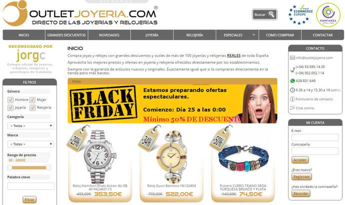 Outletjoyeria.com lanza una nueva modalidad de venta