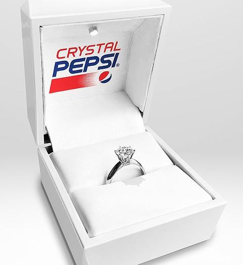 ¿Una Pepsi en un diamante?