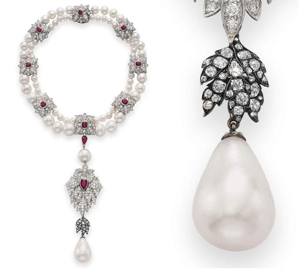 Las perlas: <em>El misterio de Oriente</em>