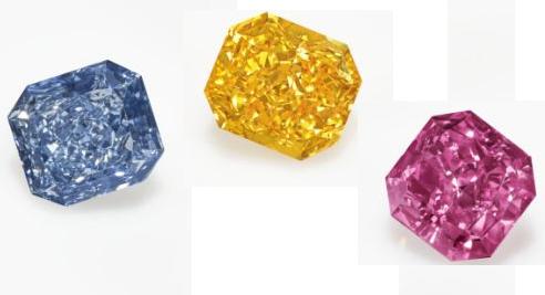 La paleta perfecta de diamantes supera los 8 millones de dólares