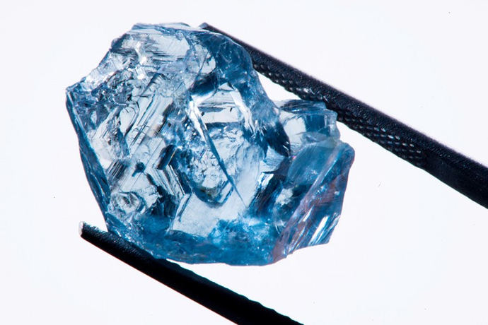 Diamante azul busca comprador en Amberes, Dubai, Hong Kong y Nueva York