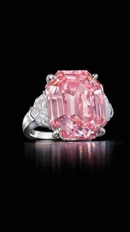 El diamante rosa Pink Legacy roza los 45 millones