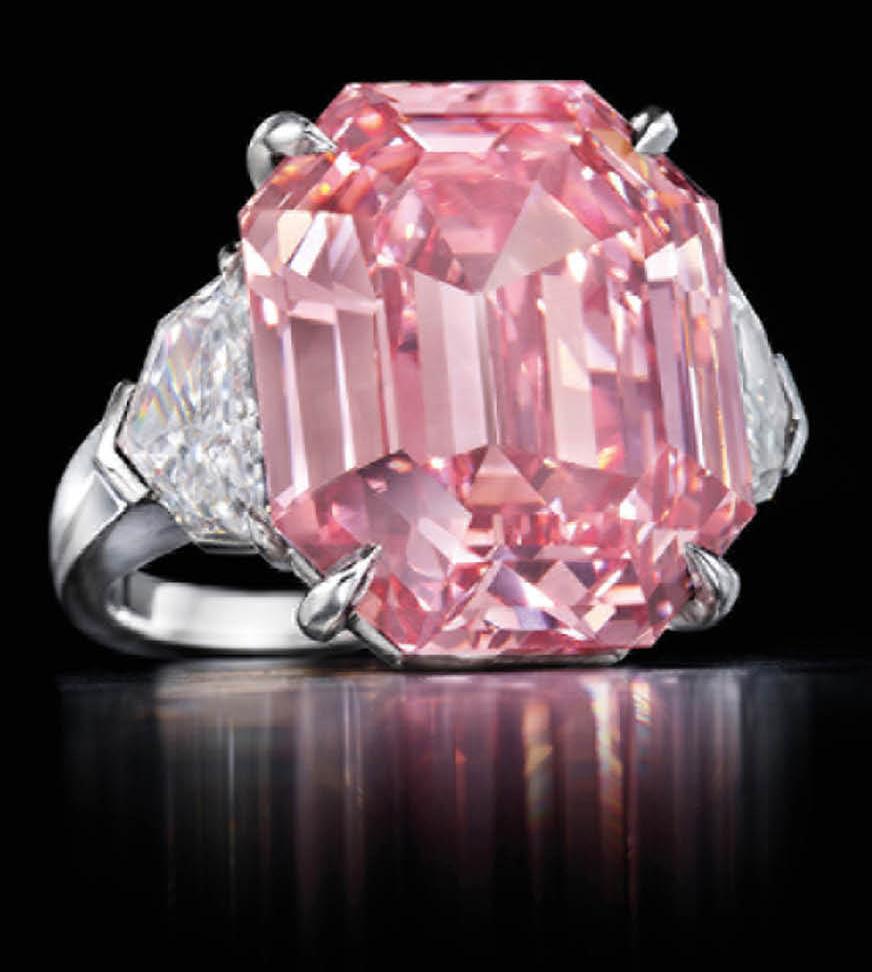 El diamante rosa <em>Pink Legacy</em> roza los 45 millones