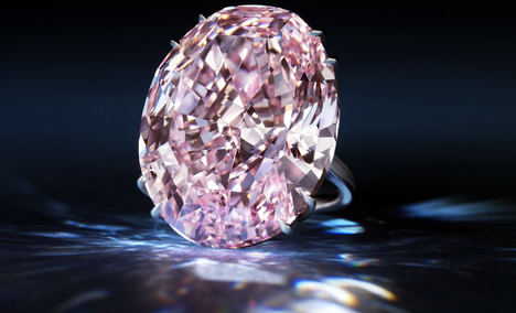 El diamante rosa Pink Star rompe todos los records para una piedra de color