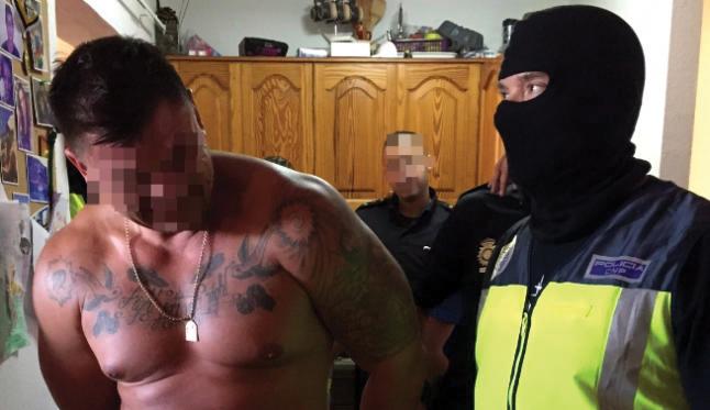 Cae una banda muy violenta en Canarias