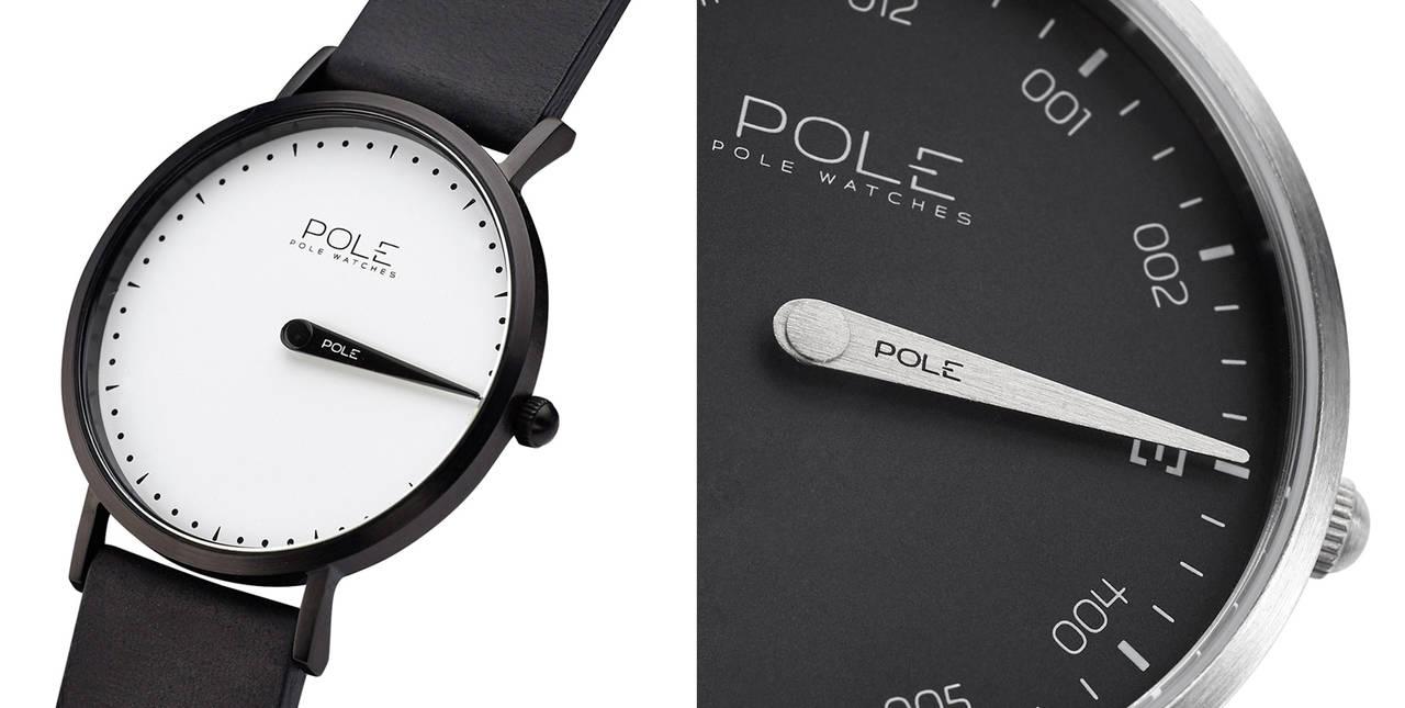El tiempo en su justa medida: Pole Watches