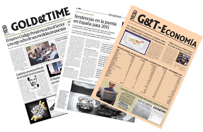 SUSCRIPCIÓN A GOLD&TIME (Edición Impresa y PDF)