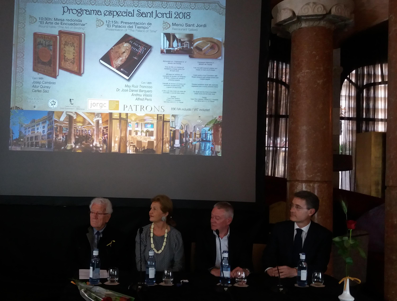 El palacio del tiempo se presenta en barcelona goldandtime - Ebanistas en barcelona ...