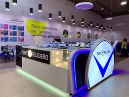 Punto Relojero amplía su presencia a nuevos centros comerciales