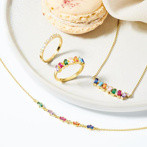 Rainbow de Thomas Sabo: coloristas y llamativas joyas