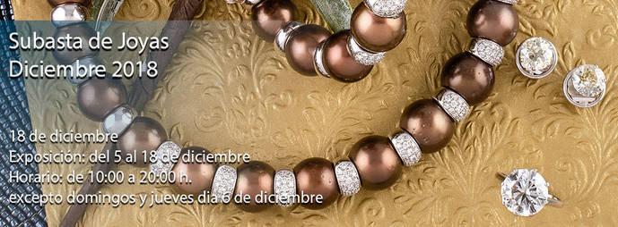 Sala Retiro: Subasta presencial joyas diciembre