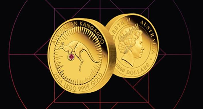 Rio Tinto presenta la primera moneda de coleccionista con diamante engastado