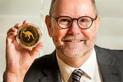 El responsable de la Casa de la Moneda australiana.