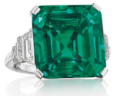 Más de 5 millones por la esmeralda más cara subastada