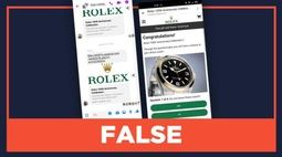 Alerta por estafa y 'phishing' usando a Rolex como cebo