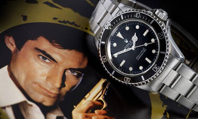 Una sala británica subasta un Rolex con licencia para matar