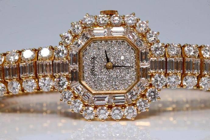 Un exótico Rolex de mujer alcanza los 300.000 dolares en subasta