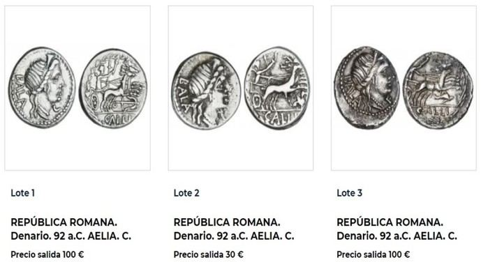 Soler y Llach subastan la colección numismática Scipio