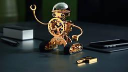 El curioso robot-reloj de la manufactura suiza L'epee