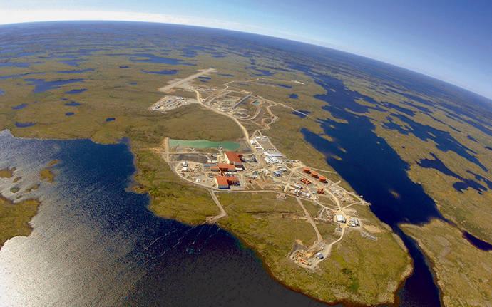 De Beers inundará la que fuera su primera mina en el Ártico