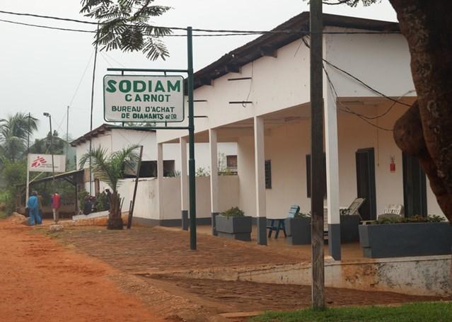 Los claroscuros del diamante en Centroáfrica