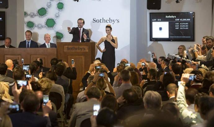 Sothebys espera comenzar en junio las subastas físicas