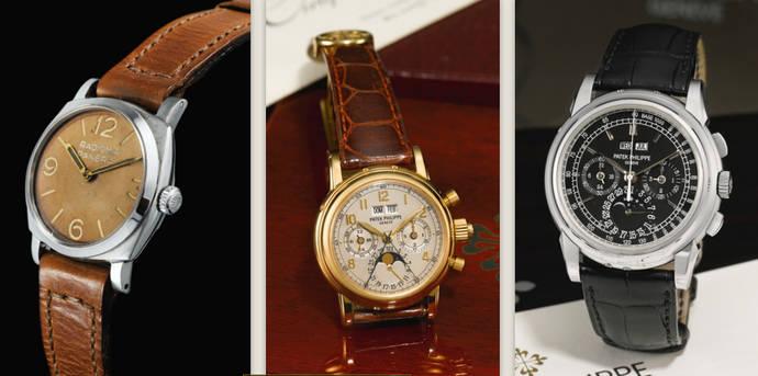 La filial de Sotheby's en Londres repite el 8 de marzo subasta de alta relojería