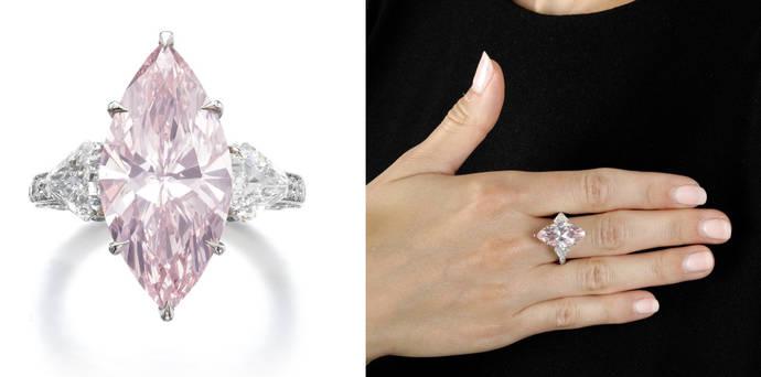 Los diamantes de color alegrarán las próximas subastas físicas de Sothebys