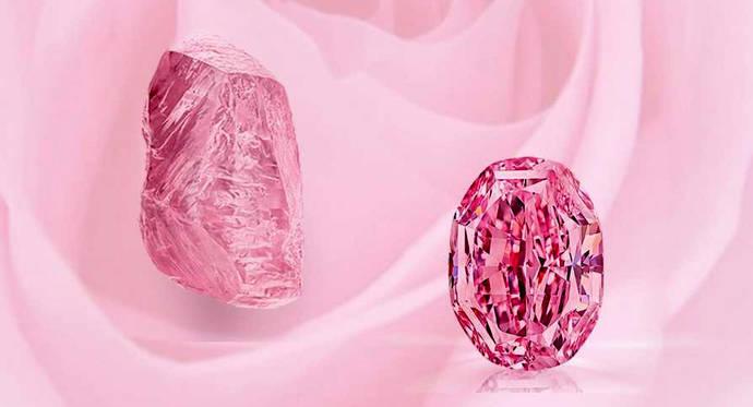El diamante Espíritu de la Rosa podría alcanzar los 38 millones