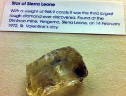 El Star of Sierra Leona es el más grande hallado en el país. Aún no han trascendido imágenes del recién encontrado.
