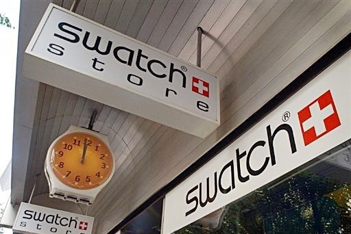 Swatch Group sufre un fuerte correctivo en sus resultados semestrales