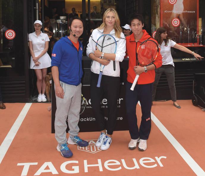 Tag Heuer suspende de forma fulminante a Sharapova