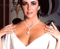 Los cuatro diamantes de Elizabeth Taylor