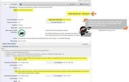 Solicitud de patente de Amazon filtrada por un portal digital estadounidense. (Foto: www.thetrademarkninja.com)